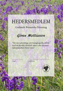 Diplom hedersmedlemmar Göran lågupplöst (1)